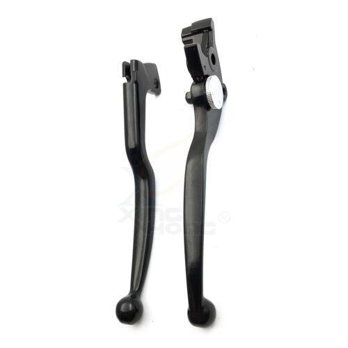 Brake Clutch Hand Levers Black For Suzuki Gsxr 600 750 Katana 750F Sv650 Sv650S