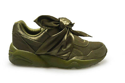 Donna puma Fiocco Sneaker da Rihanna Fenty x 36505404 Oliva Scarpe Sportive | eBay