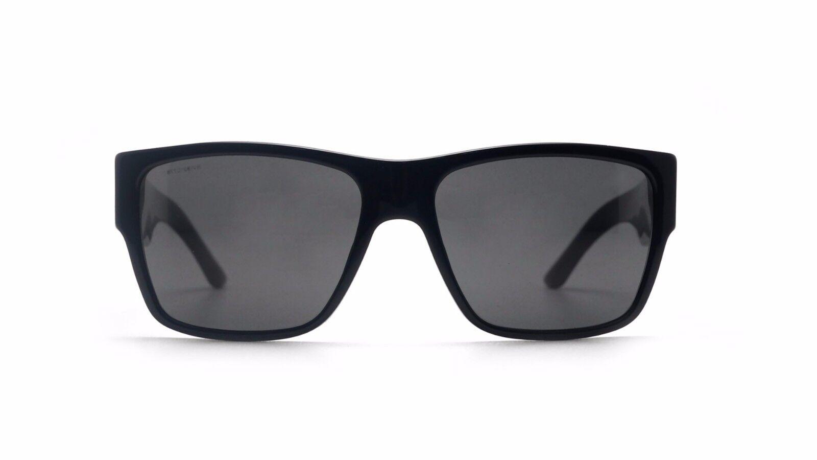 b1946bef436b VERSACE VE4296 Gb1 87 59mm Grey UV Lens Black Frame Men s Sunglasses ...