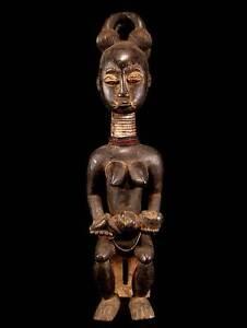 Mutter-Statue-Kulango-Elfenbeinkueste