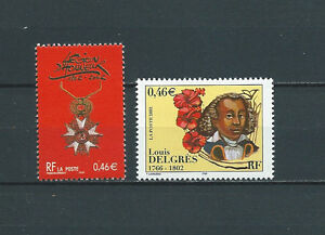 FRANCE-2002-YT-3490-a-3491-TIMBRES-NEUFS-LUXE
