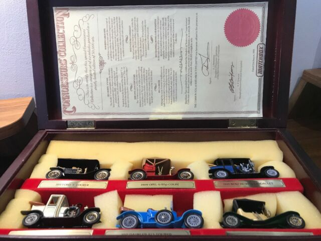 1984 MATCHBOX 'MODELS OF YESTERYEAR' CONNOISSEURS COLLECTION BOX SET