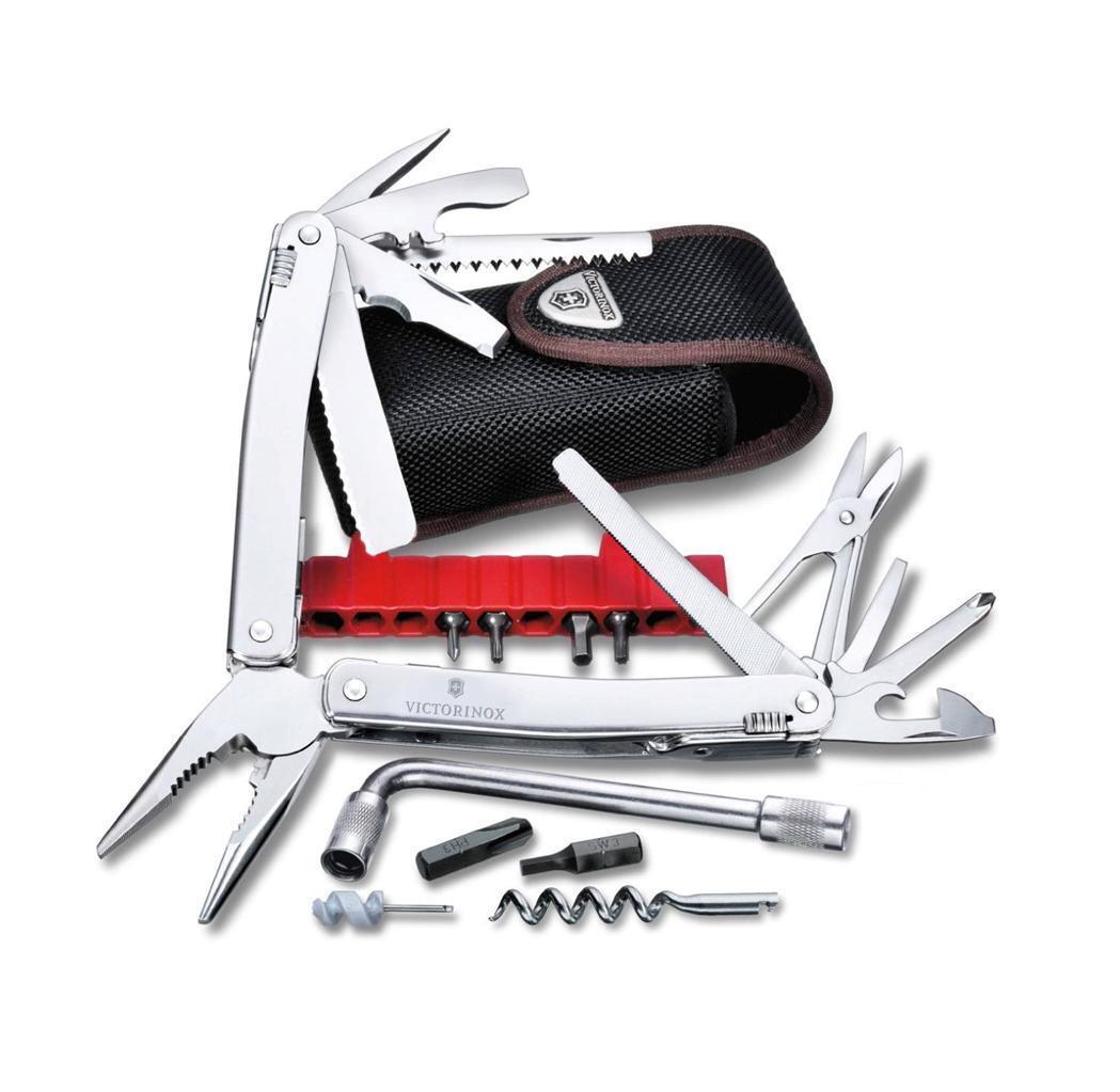 Victorinox Swiss Army SwissTool Spirit Plus Multi Tool Nylon Pouch 53804