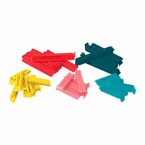 IKEA Bevara 10// 30 Food bag Storage Clips Freezer /& Fridge Sealing Clips Kitchen
