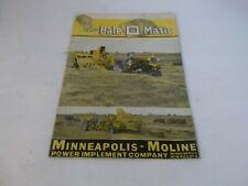 1946 Minneapolis Moline The Bale O Matic Brochure