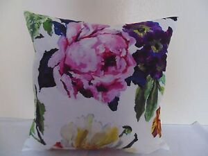 Designers-Guild-Floral-100-Tela-de-Algodon-Rosa-Alexandria-Funda-Cojin-Design-6