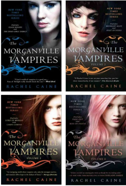 Morganville Vampires Collection Set Series 1-8 by Rachel Caine Brand New!