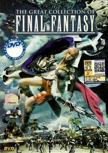 anime dvd final fantasy the great collection complete tv series