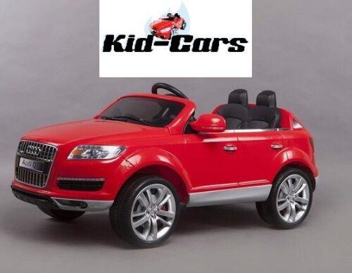 Kinderauto Kinderfahrzeug Audi Q7 in rot große Version 1,31m Doppelsitzer neu vw Kinderfahrzeuge