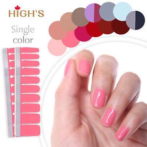 Nail Polish Strips Nail Art Manicure Decoration Accent Nails CHEAP ...