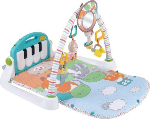 Krabbeldecke  Spielbogen Babymatte Erlebnisdecke Spielmatte mit einem Klavier