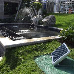 High-Power Solar Brunnen 17V 10W Ausrüstung Solar Wasser Pumpe Q0R7