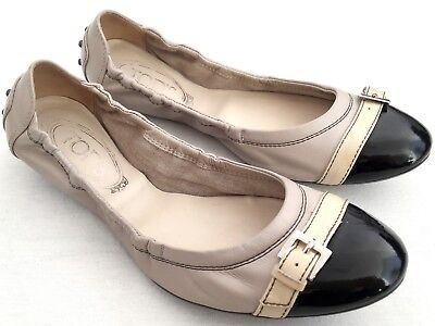 Tods 89413 Ballerina DEE FORATURE Scarpa Donna Shoes Women