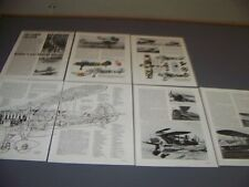 VINTAGE..HEINKEL HE 51 B-1..HISTORY/CUTAWAY/SPECS/3-VIEWS..RARE! (307F)