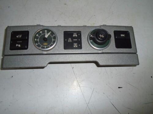 range rover l322 02-06 clock air suspension pdc switch panel unit yul000072puy