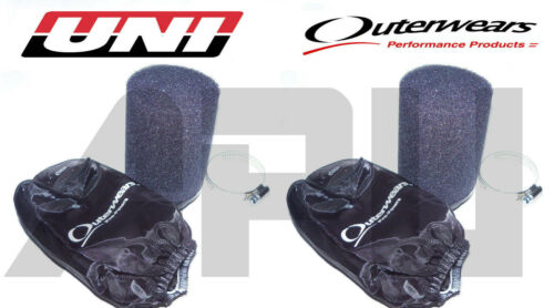87-06 Yamaha 350 Banshee Uni Air Filters Prefilters For 34pj 33pwk 35pwk New