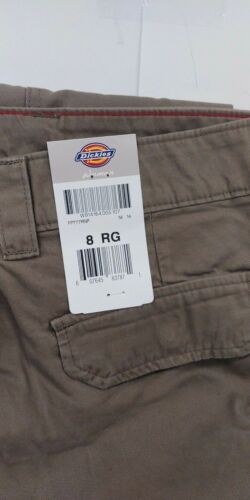 Dickies FP777RNP Women Relaxed Fit Cargo Pocket Pant 100/% Cotton Twill