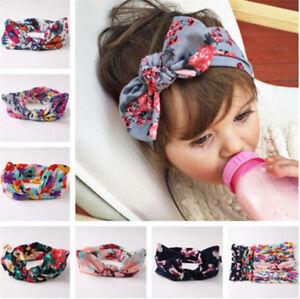 Image is loading Cute-Kids-Girls-Baby-Toddler-Turban-Knot-Headband- aae1c800d2d