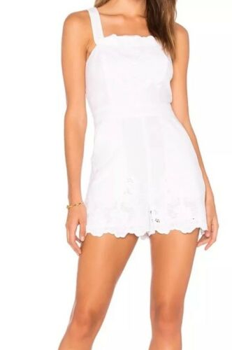 Bcbgeneration Romper Overall New Tag With Lace 2 Sz B2967 Embroidered 138 qxPfFH