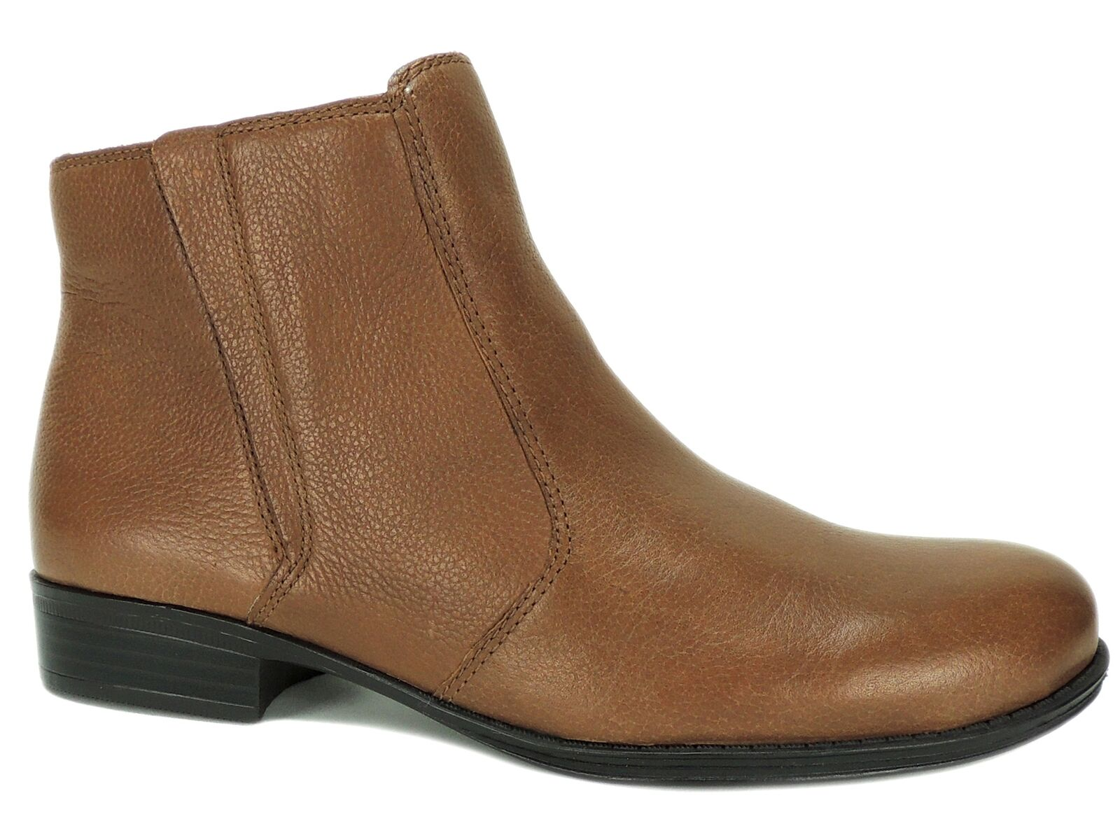 Naturalizer Women's Jump Ankle Booties Banana Bread Leather Size 5.5 M