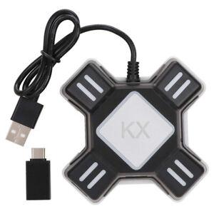 Hub USB con Cable Videojuegos Mouse Teclado convertidor adaptador para conmutador Xbox One