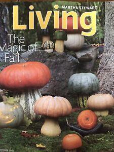 Martha Stewart Living Magazine October 2009 Halloween Crafts Diy Photo Albums Ebay