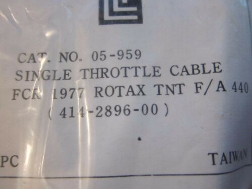 New Ski-Doo Moto-Ski Throttle Cable 05-959 Everest Futura 500 TNT  More Listed