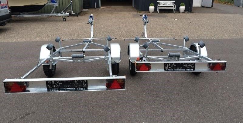 Bådtrailer, SCANDICTRAILERS Sealine 15, lastevne (kg):