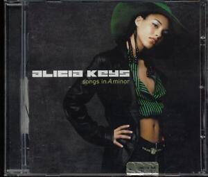 Alicia-Keys-Songs-In-A-Minor-CD-Ottimo
