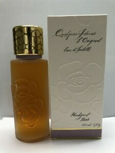 Houbigant-Quelques-Fleurs-L-039-Original-5-0-oz-150-ml-Eau-de-Toilette-Splash-As-Is