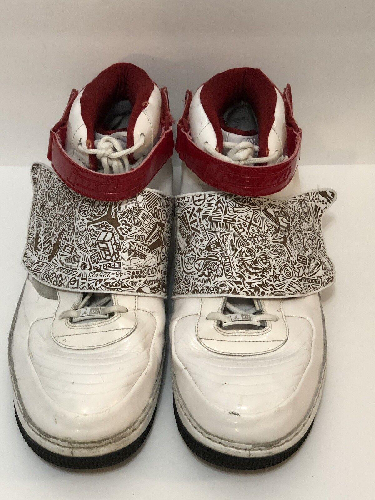 3cfc784e0750 Men s Sz 17 Nike Nike Nike Air Jordan Fusion AJF 20 Basketball 331823-101  White