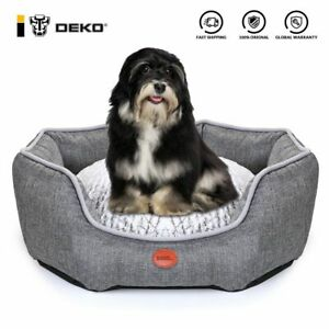 Dog Bed Soft Sleeping Sofa Waterproof Cushion Mat For Puppy Cat Cotton Pillow
