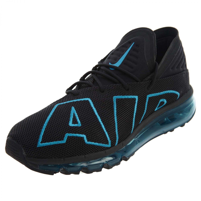Nike Air Max Flair Running Chaussures  Noir Turquoise Hommes SZ 10