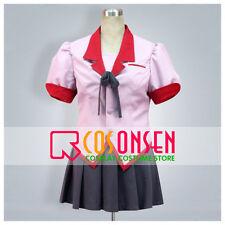 Cosonsen Nisemonogatari Tsubasa Hanekawa Cosplay Costume All Size Custom Made