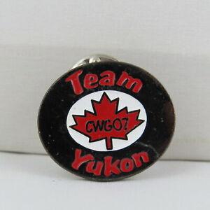 Juex-Canada-Winter-Games-Pin-2007-Whitehorse-Yukon-Team-Yukon