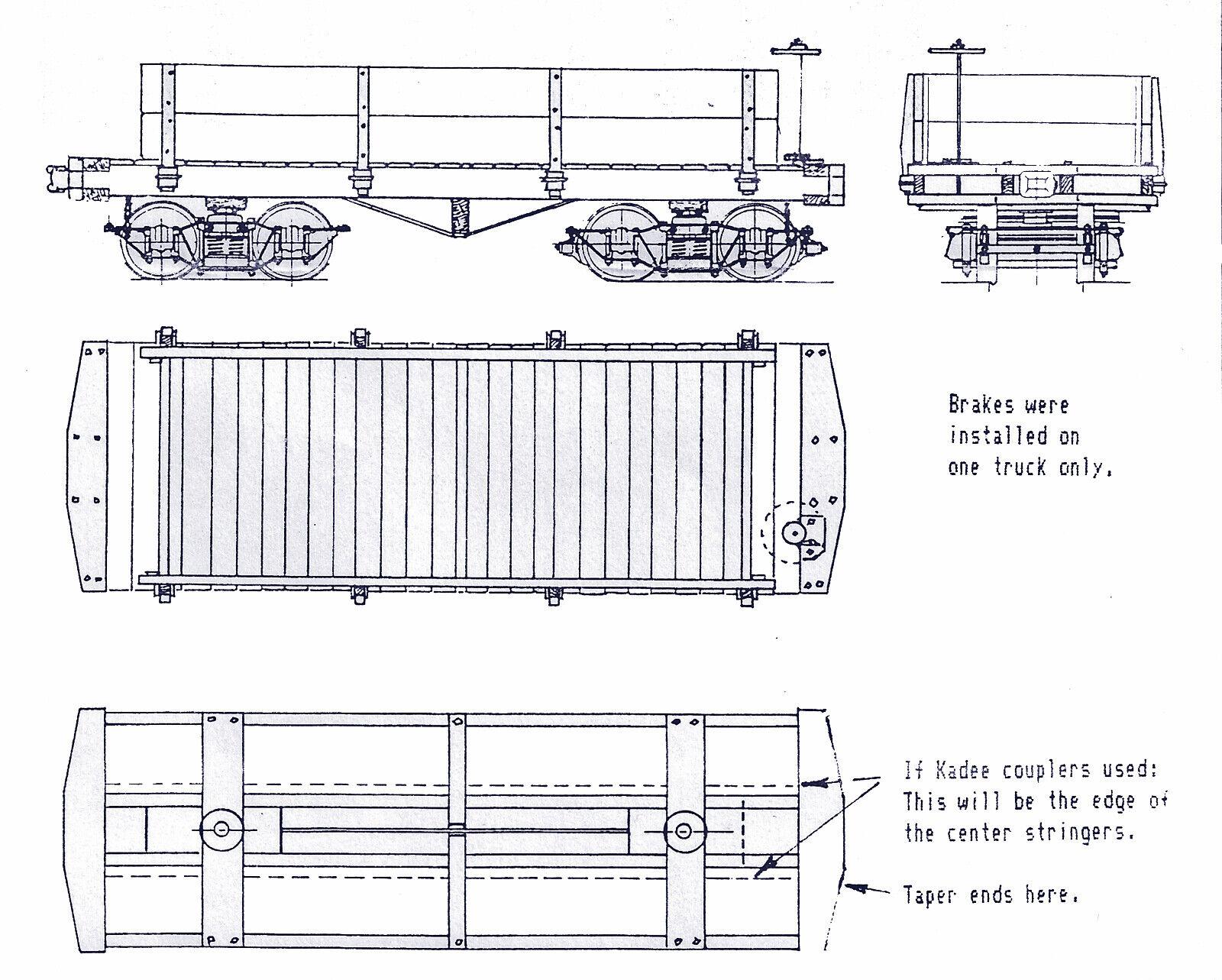ventas en línea de venta Mina de bonificación Company 2' calibre 16' Gondola On2 On2 On2 kit de artesano FerroCocheril Modelo TC7985  100% garantía genuina de contador