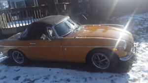1972 MG MGB Chrome