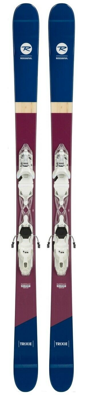 Rossignol Trixie ladies snow skis 158cm with bindings (CLEARANCE PRICE) NEW 2019