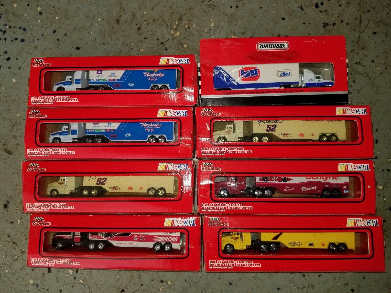 8 Racing Champions 1 64 Team Transport NASCAR 1993 LaBonte Schrader Nemechek