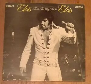 Elvis-Presley-That-039-s-The-Way-It-Is-Vinyl-LP-Album-33rpm-1971-RCA-Victor-SF8162