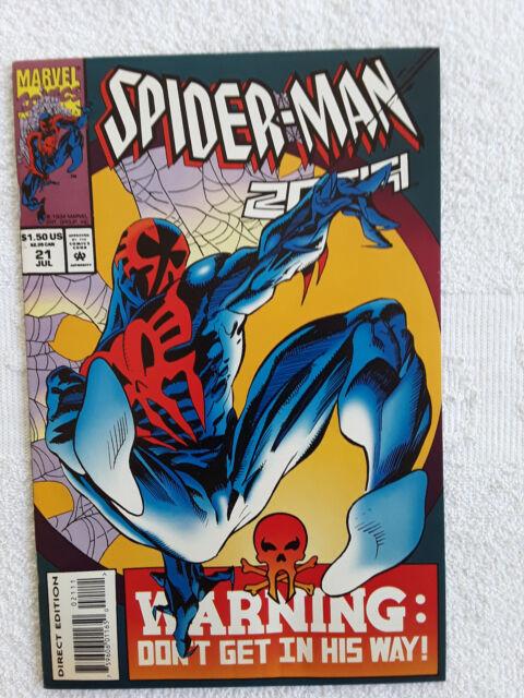 Spider-Man 2099 #21 (Jul 1994, Marvel) Vol #1 VF
