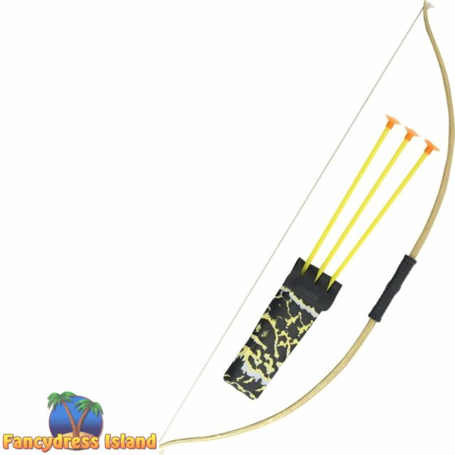 Indian Quiver and Arrows Set Costume Prop Accessory