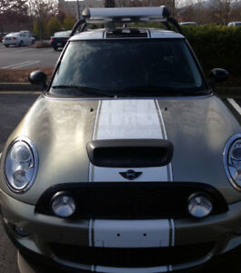 Mini Cooper Coupe S 19 Wide 2 Color Racing Stripe Stripes Decals