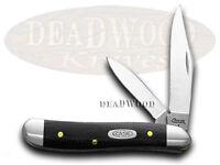 Case Xx Black G10 Peanut Pocket Knife Knives on sale