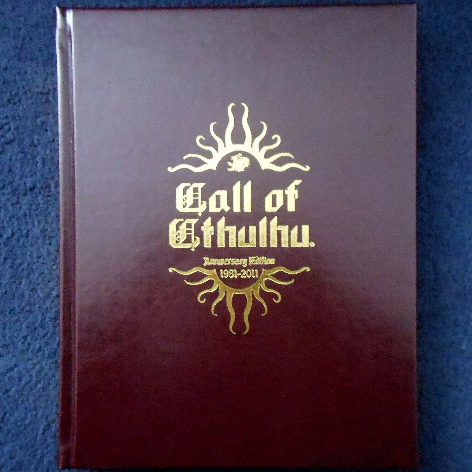 Call of Cthulhu 30th Edición de aniversario Regla Libro Gótico Horror Cthulu Juego Rpg