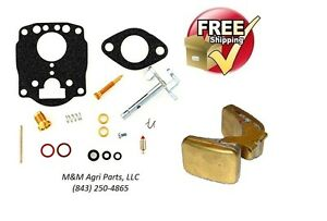 ALLIS CHALMERS G CARBURETOR REBUILD KIT TSV13, TSV16, TSV24 MARVEL ...