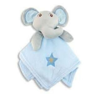 New-Baby-Boy-Blanket-with-Elephant-Snuggly-Perfect-Baby-Gift