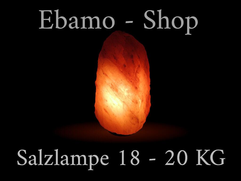 Salzlampe 18 - 20 KG Salzkristall Lampe inkl Beleuchtung ...