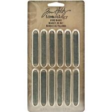 Tim Holtz Idea-ology Word Bands Embellishments Findings Ideaology Th93000