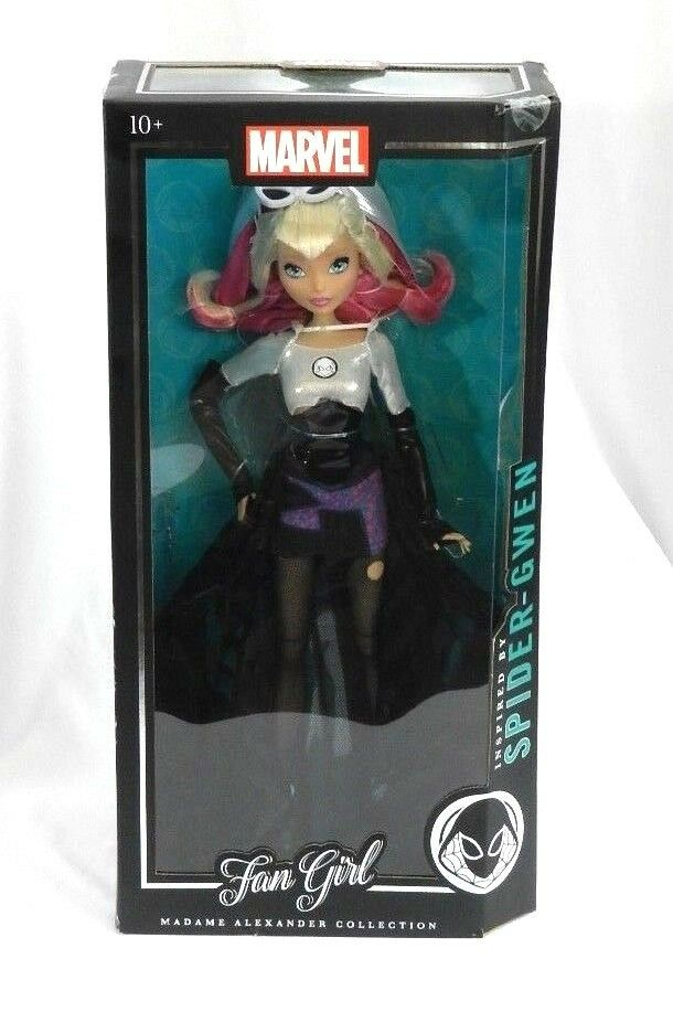 New Marvel Madame Alexander Fan Girl Finds Variant Spider-Gwen Factory Sealed